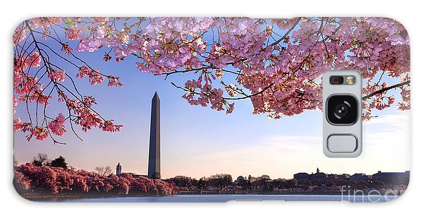 Washington D.c Galaxy Case - Cheery Cherry Dc by Olivier Le Queinec