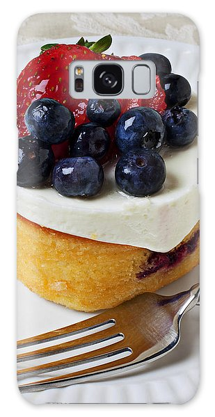 Cheese Cream Cake With Fruit Galaxy Case