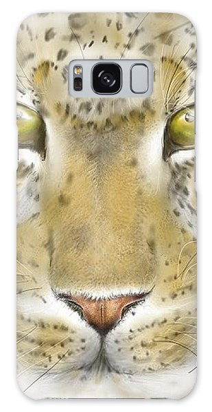 Cheetah Face Galaxy Case by Darren Cannell