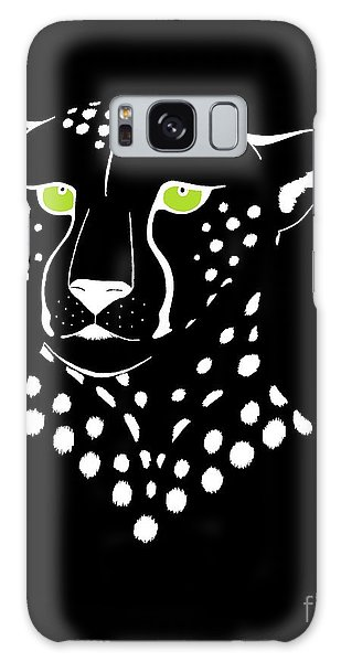 Cheetah Inverted Galaxy Case