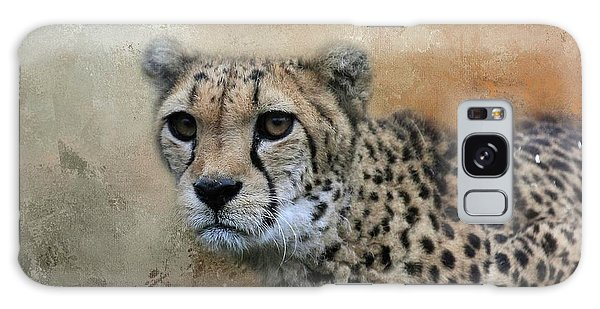 Cheetah Portrait Galaxy Case