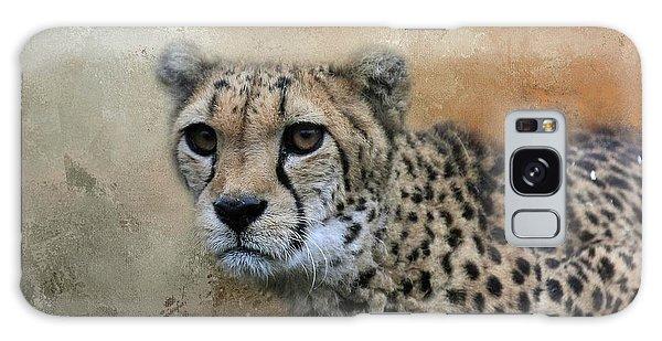 Cheetah Portrait Galaxy Case