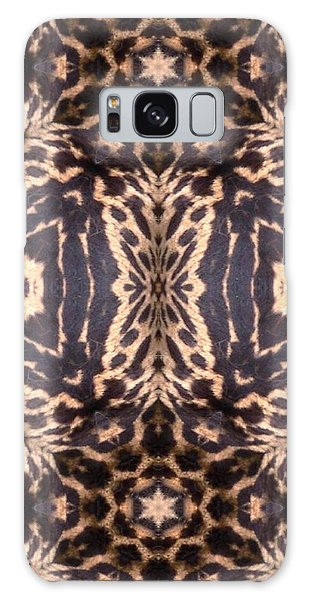 Cheetah Print Galaxy Case