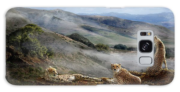 Cheetah Ridge Galaxy Case