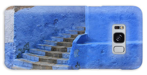Galaxy Case featuring the photograph Chefchaouen by Ramona Johnston
