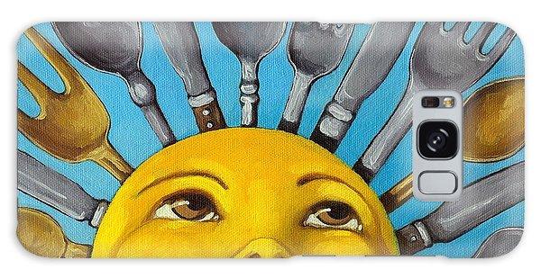 Chefs Delight - Cbs Sunday Morning Sun Art  Galaxy Case