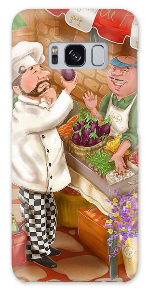 Chefs Go To Market I Galaxy Case
