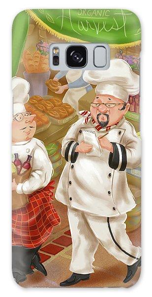 Chefs Go To Market IIi Galaxy Case