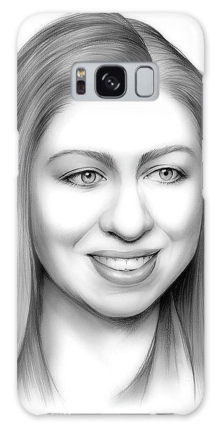 Hillary Clinton Galaxy S8 Case - Chelsea Clinton by Greg Joens