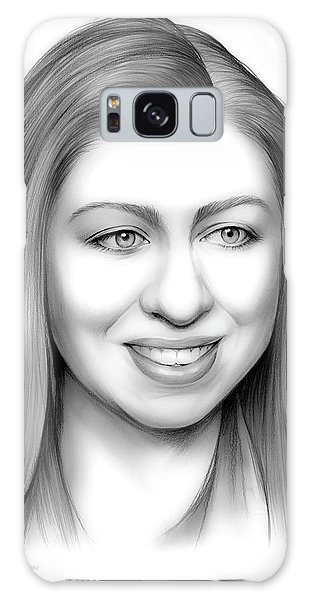 Chelsea Clinton Galaxy Case by Greg Joens