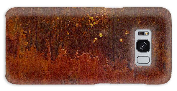 Galaxy Case featuring the painting Chemistry by Sandy Dusek