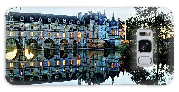 Chenonceau Twilight In Blue - Vintage Version Galaxy Case