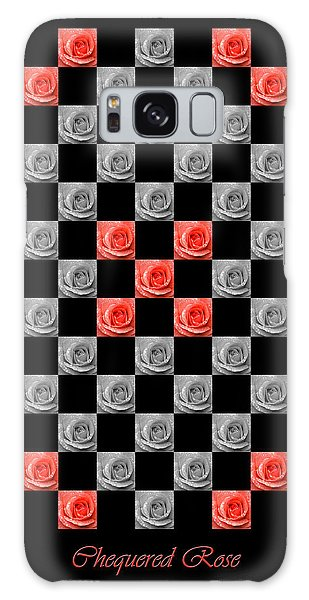 Chequered Rose Galaxy Case