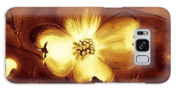 Cherokee Rose Dogwood - Single Glow Galaxy Case