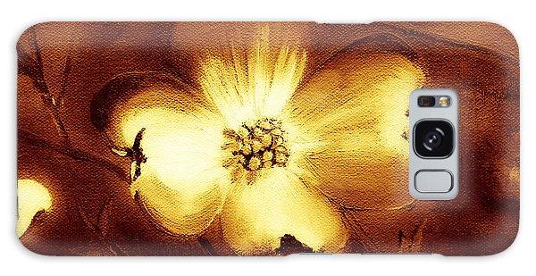 Cherokee Rose Dogwood - Single Glow Galaxy Case