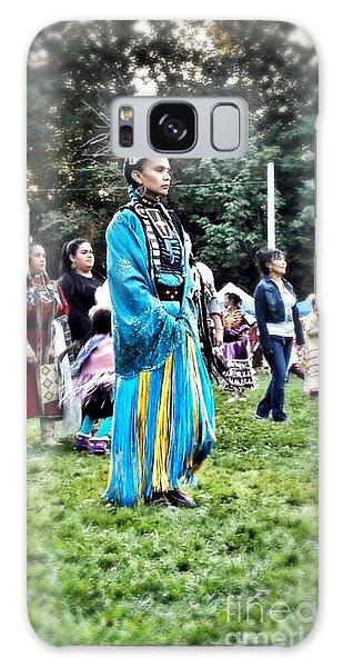 Cherokee Warrior Galaxy Case