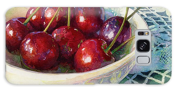 Reflections Galaxy Case - Cherries Jubilee by Hailey E Herrera
