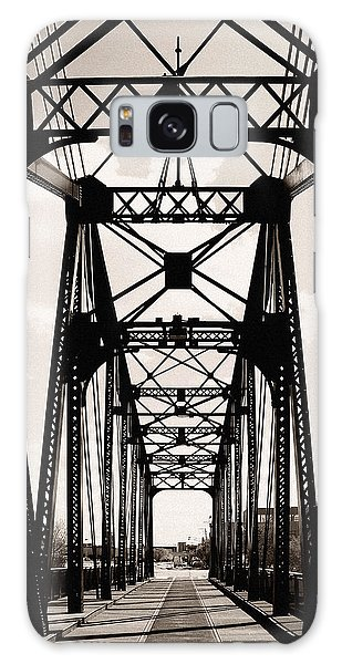 Cherry Avenue Bridge Galaxy Case