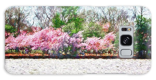 Cherry Blossom Day Galaxy Case