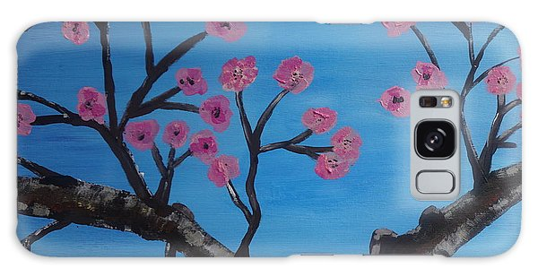 Cherry Blossoms II Galaxy Case