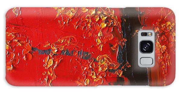 Cherry Blossom Tree - Red Yellow Galaxy Case