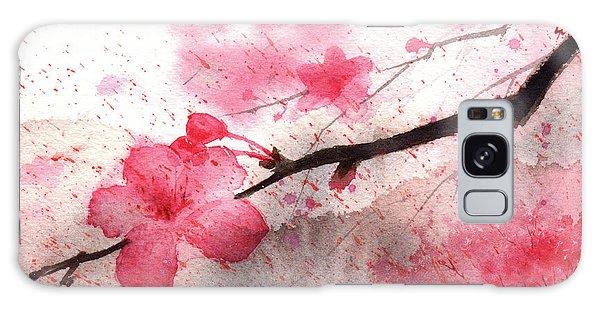 Cherry Blossoms 1 Galaxy Case
