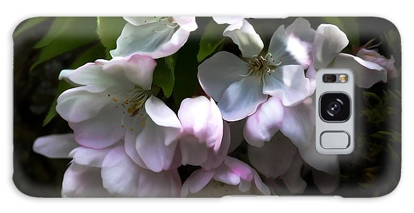 Cherry Blossoms Galaxy Case by Erica Hanel