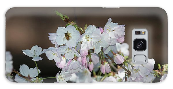 Cherry Blossoms Galaxy Case by Glenn Franco Simmons
