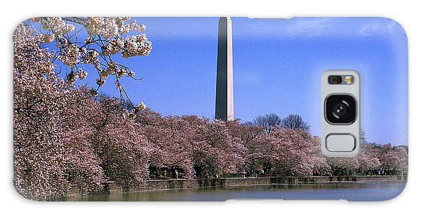 Cherry Blossoms On The Tidal Basin 15j Galaxy Case