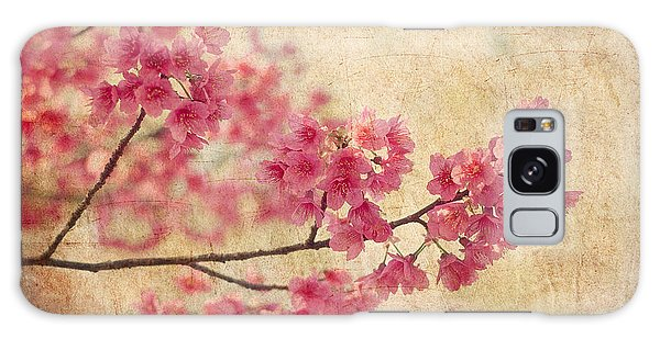 Blossoms Galaxy Case - Cherry Blossoms by Rich Leighton