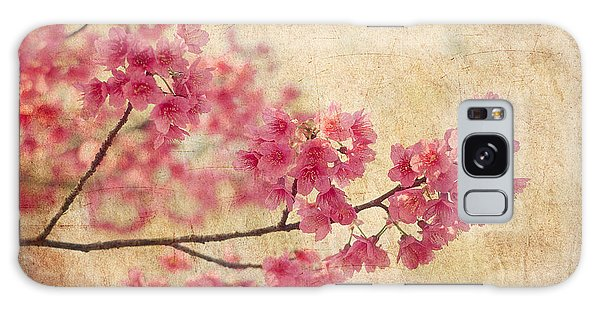 Old Galaxy Case - Cherry Blossoms by Rich Leighton