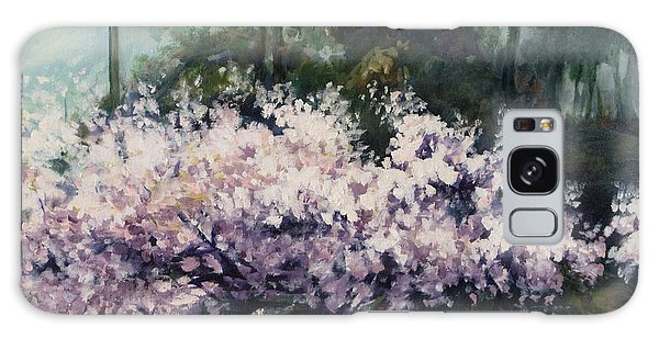 Cherry Blossoms Galaxy Case by Rick Nederlof