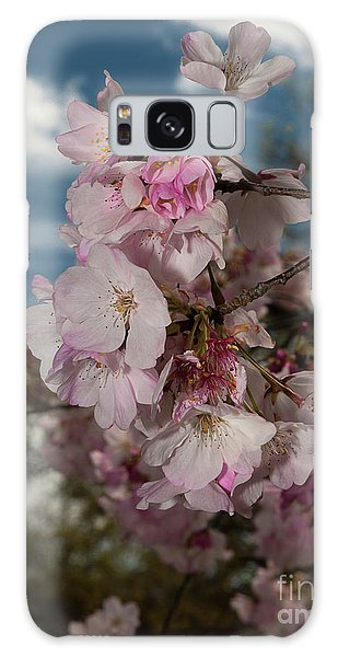 Cherry Blossoms Vertical Galaxy Case