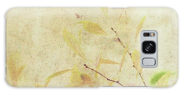 Cherry Branch On Rice Paper Galaxy Case