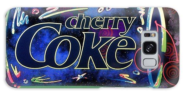 Cherry Coke 2 Galaxy Case by John Keaton