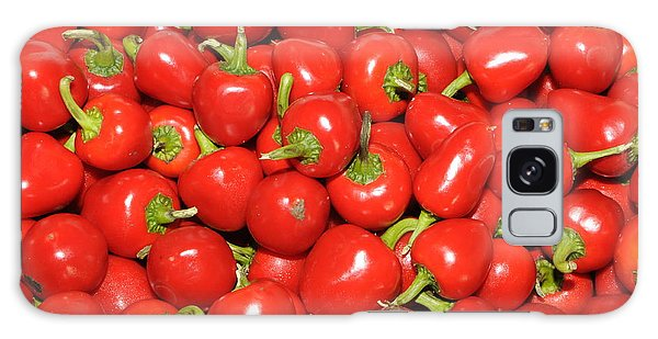 Cherry Peppers Galaxy Case