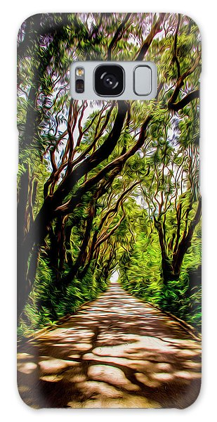 Cherry Tree Hill Galaxy Case