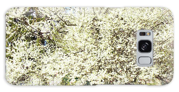 Cherry Trees In Blossom Galaxy Case