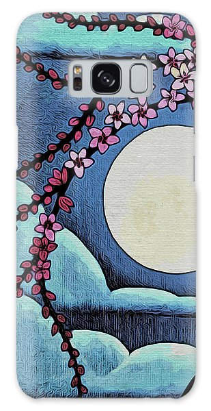 Cherry Whip Moon Galaxy Case