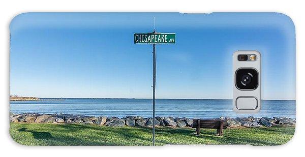 Chesapeake Ave Galaxy Case by Charles Kraus