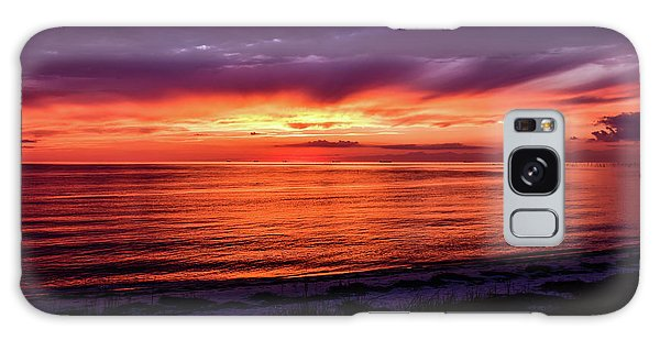 Chesapeake Bay Sunset Galaxy Case
