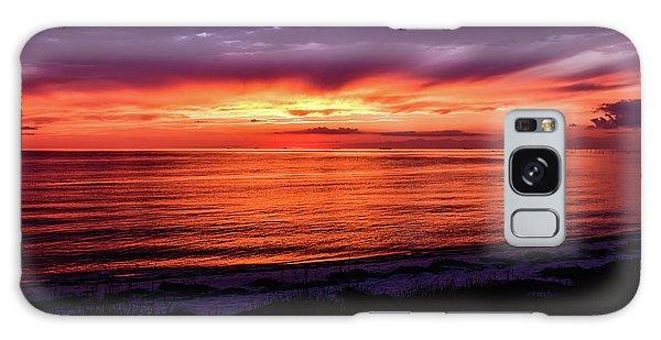 Chesapeake Bay Sunset Galaxy Case