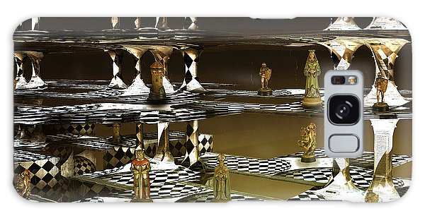 Chess Anyone Galaxy Case by Melissa Messick
