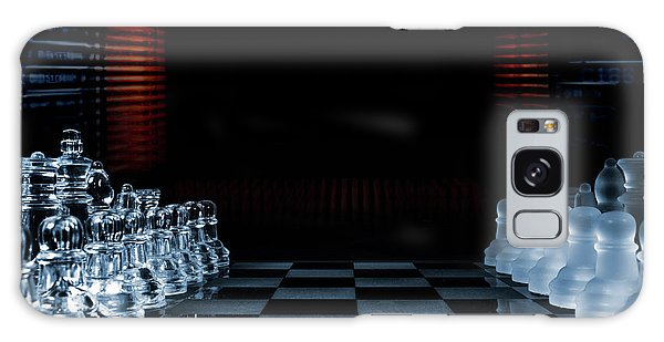 Chess Game Performed By Artificial Intelligence Galaxy Case by Christian Lagereek