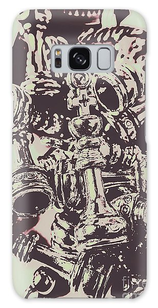 Battle Galaxy Case - Chess Poster Pieces by Jorgo Photography - Wall Art Gallery