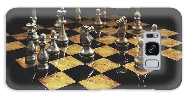 Chess The Art Game Galaxy Case