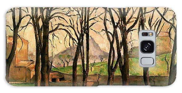 Crt Galaxy Case - Chestnut Trees At The Jas De Bouffan by Paul Cezanne