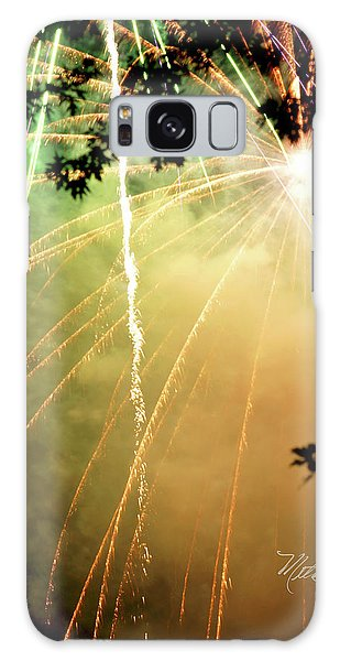 Chetola Yellow Fireworks Galaxy Case