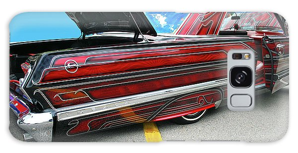 Galaxy Case featuring the photograph Chev Impala 1 by Bill Thomson