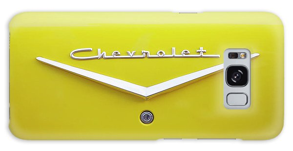 Chevrolet Bel Air In Yellow Galaxy Case by Toni Hopper